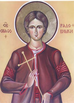 Свети новомученик Триандафил и Спасо