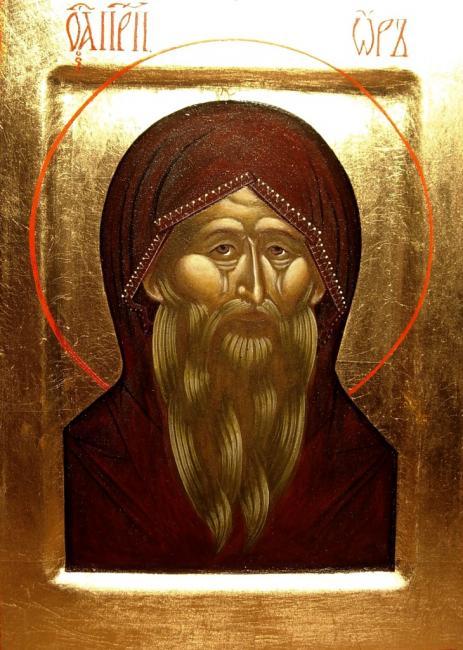 Свети преподобни Ор, Отшелник тиваидски