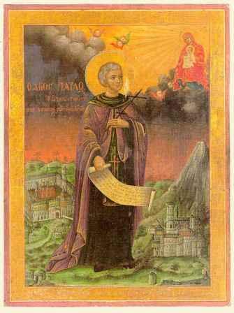 Свети преподобни Павле Ксиропотамски