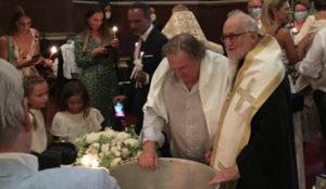 Глумац Жерар Депардје примио православну веру
