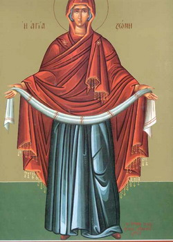 Празник појаса Свете Богородице