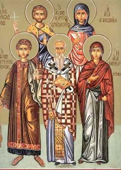 Свети мученик Карп; Света новомученица Злата Меглинска