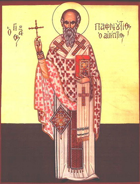 Свети преподобномученик Пафнутије и осталих 546 мученика с њим