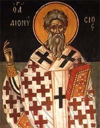 Свети свештеномученик Дионисије, епископ александријски