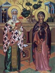 Свети свештеномученик Кипријан и Јустина девица