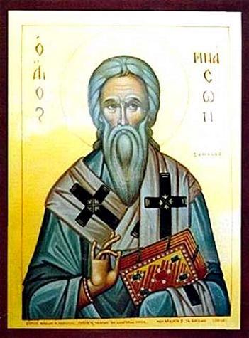 Свети свештеномученик Мнасон, епископ кипарски