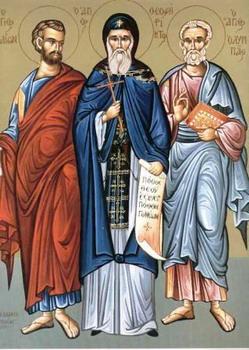 Свети апостоли Олимп, Ераст, Кварт, Иродион, Сосипатер и Терције