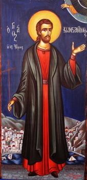 Свети новомученик Константин са острва Идре