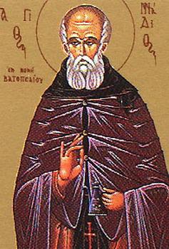 Свети преподобни Генадије Ватопедски