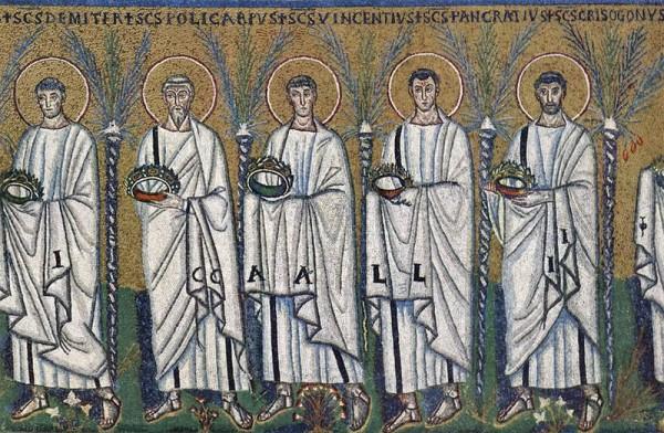 Свети мученици Филимон, Аполоније, Аријан и други