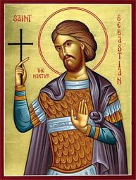 Свети мученик Севастијан и други с њим