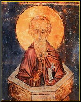 Свети преподобни Алимпије Столпник