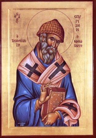 Свети Спиридон Чудотворац, епископ тримифунтски