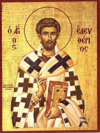 Свети свештеномученик Елевтерије, епископ илирски