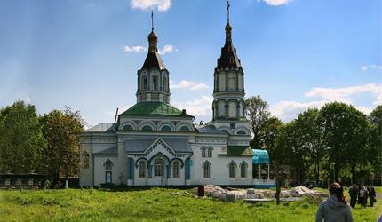 Чернобилска црква, коју је зрачење заобишло