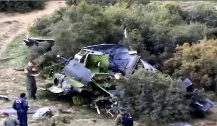 Богородица у срушеном хеликоптеру