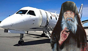 Чудом старца Јефрема спречен пад авиона