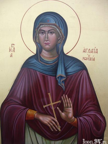 Света преподобна Аглаида Римљанка