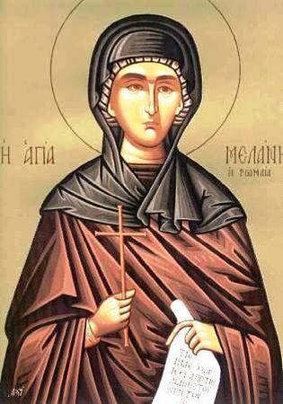 Света преподобна Меланија Римљанка