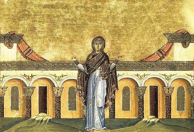 Света преподобна Синклитикија