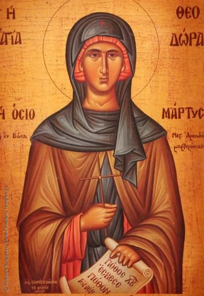 Света преподобна Теодора Цариградска