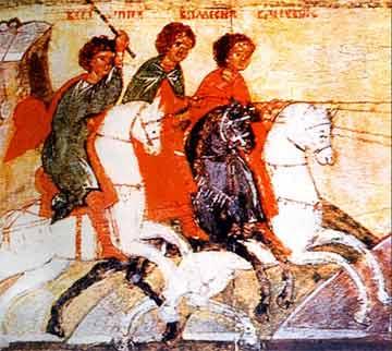 Свети мученици Певсип, Елевсип, Малевсип и баба им Неонила