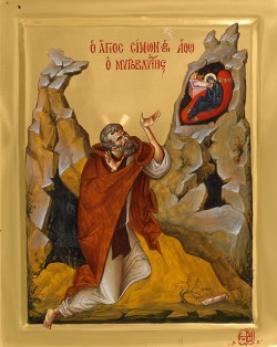 Свети преподобни Симон Мироточиви