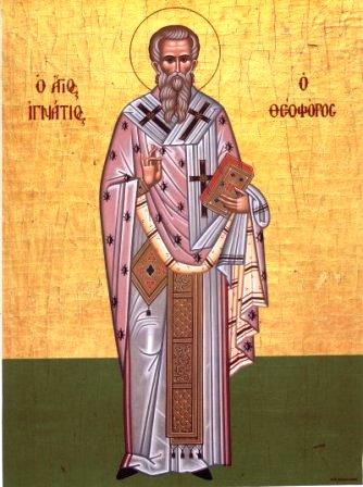 Свети свештеномученик Игњатије Богоносац