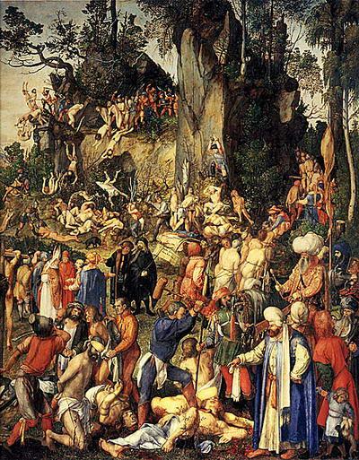 Хиљаду и три мученика у Никомидији