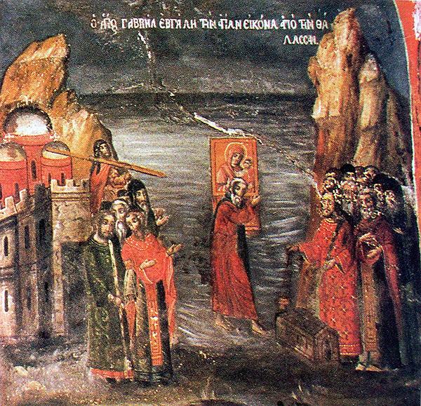 Иверска икона пресвете Богородице звана 'Портаитиса' (Вратарка)