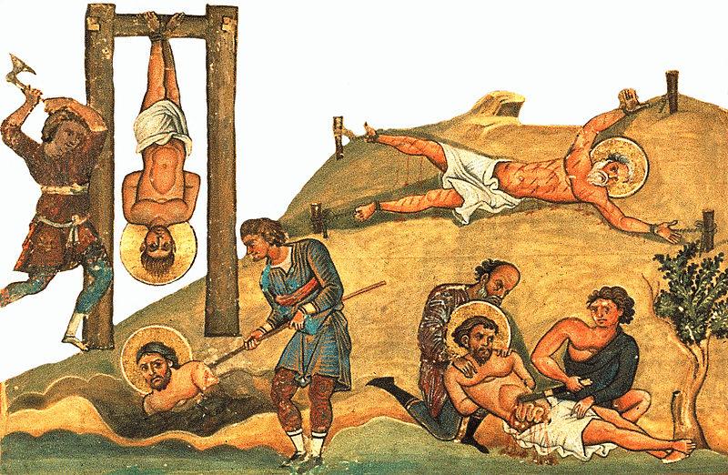Свети мученици Вас, Јевсевије, Јевтахије и Василид