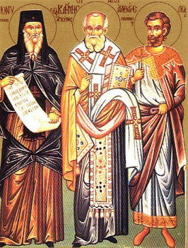 Свети преподобни Дионисије Олимпијски, чудотворац