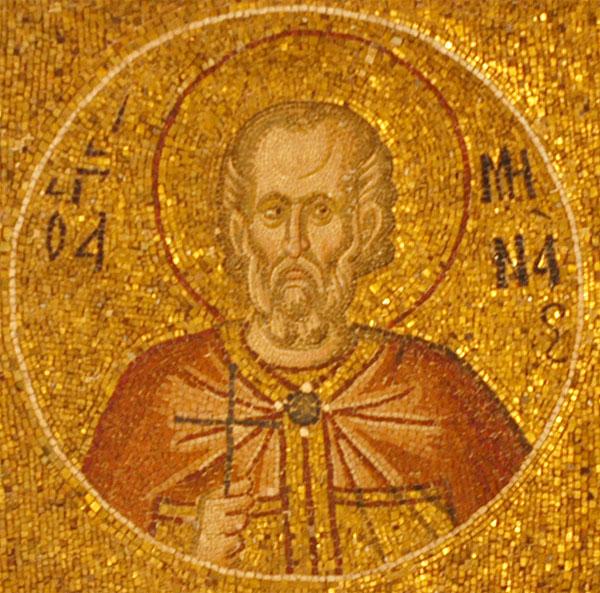 Проналазак моштију светог мученика Мине Каикелада
