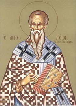 Свети Лав, епископ катански