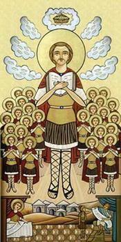 Свети мученик Маврикије и седамдесет војника