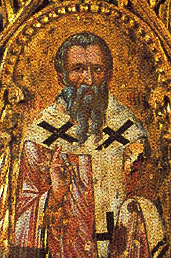 Свети преподобни Авксивије, епископ солунски на Кипру