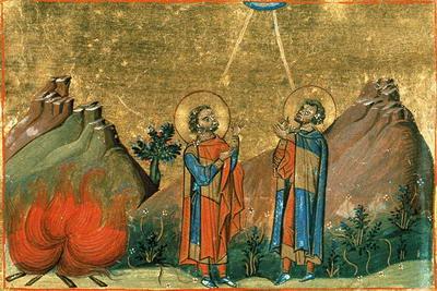 Свети преподобни Евгеније и Макарије исповедници