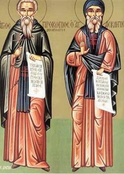 Свети преподобни Прокопије Декаполит