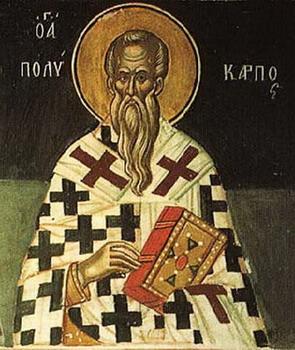 Свети свештеномученик Поликарп, епископ смирнски