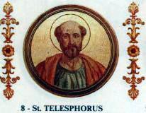 Свети свештеномученик Телесфор, епископ римски