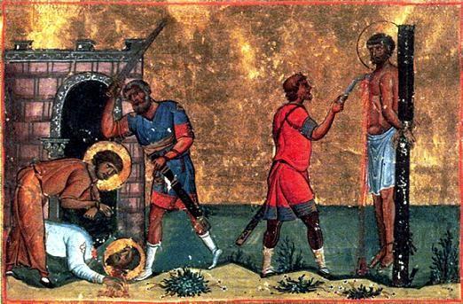 Свети свештеномученик Трофин и Тал