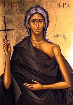 Света преподобна Марија Египћанка