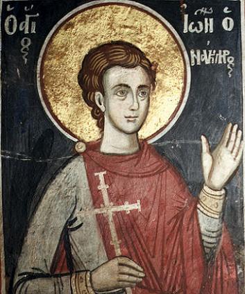 Свети новомученик Јован лађар
