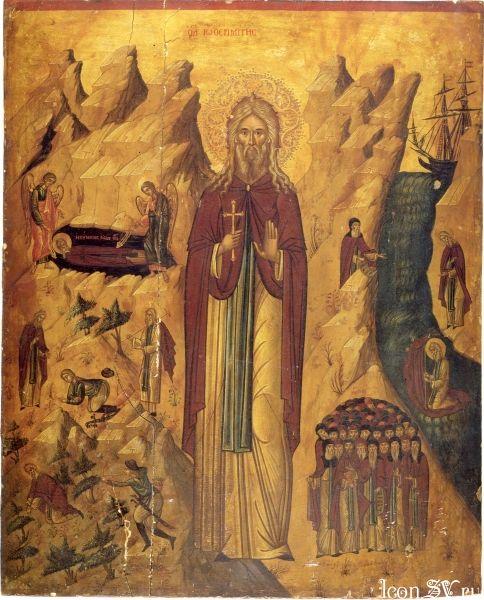 Свети преподобни Јован пустињак