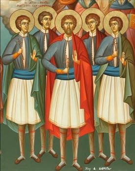 Светих пет новомученика Георгија, Мауила, Теодора, Георгија и Михаила