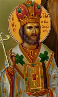 Свети Јован Калоктенис, митрополит града Тиве (Тебе)