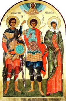 Свети мученици Пасикрат и Валентин