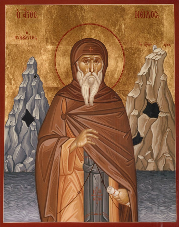 Свети преподобни Нил мироточиви