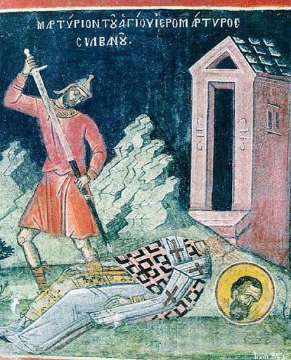Свети свештеномученик Силуан, епископ гаски