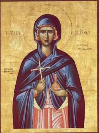Свете Марта и Марија